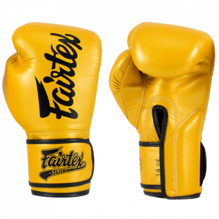 Fairtex BGV18 Super Sparring Gloves - Gold