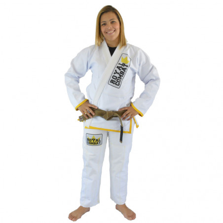 Royal Combat Light Series BJJ Kimono - white