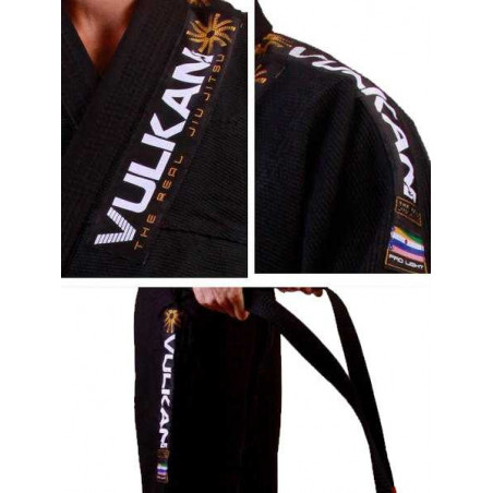 Vulkan PRO Light Bjj Gi - black